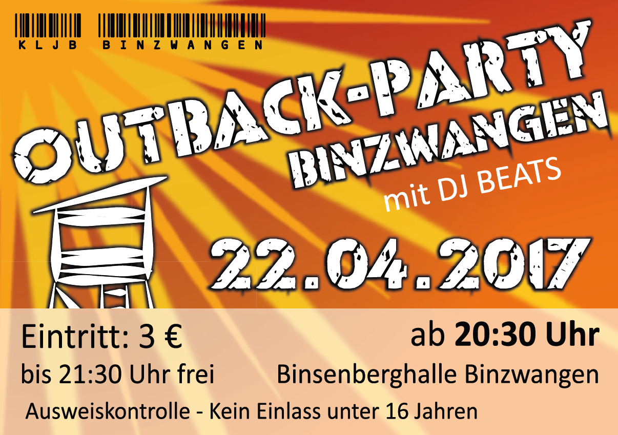 Outback Party 2017